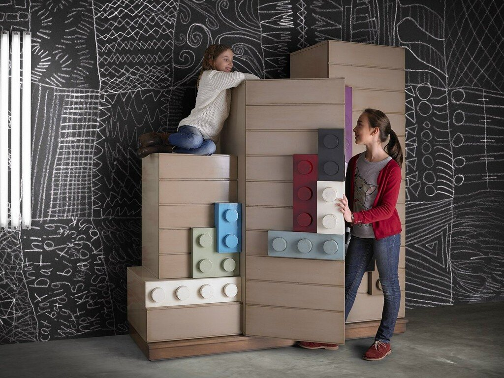 Lego furniture for children's rooms, by Lola Glamour - www.homeworlddesign.com  (8)