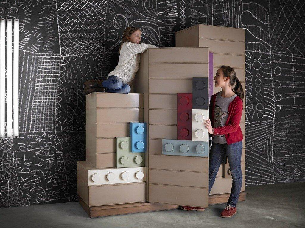 Lego furniture for children's rooms, by Lola Glamour - www.homeworlddesign.com  (8)