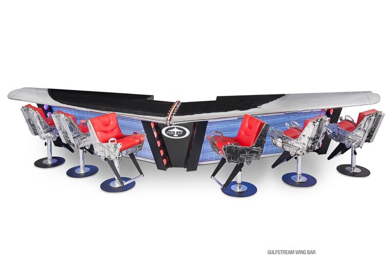 MotoArt Futuristic furniture from retired airplanes - www.homeworlddesign (12)