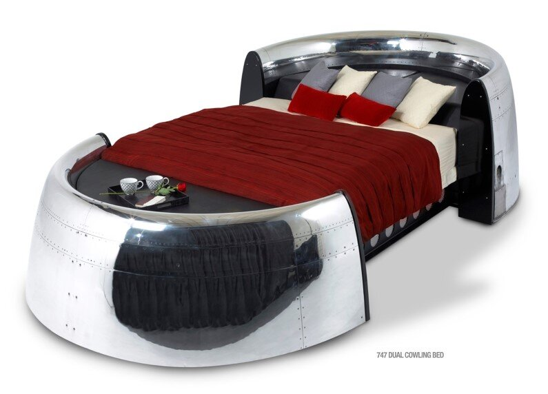 MotoArt Futuristic furniture from retired airplanes - www.homeworlddesign (3)