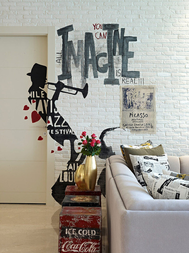 Apartment in Beirut by Vick Vanlian eclectic design with wow effect - www.homeworlddesign. com (1)