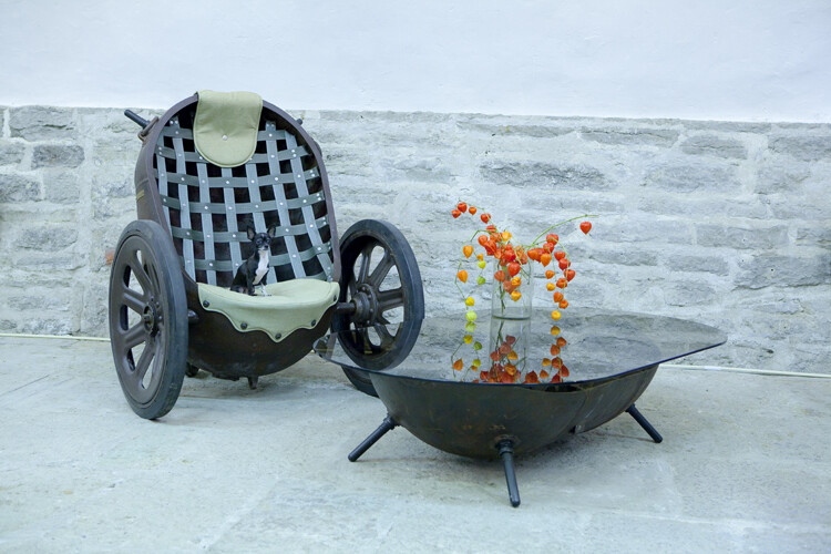 Marinemine – unique furniture made from old marine mines