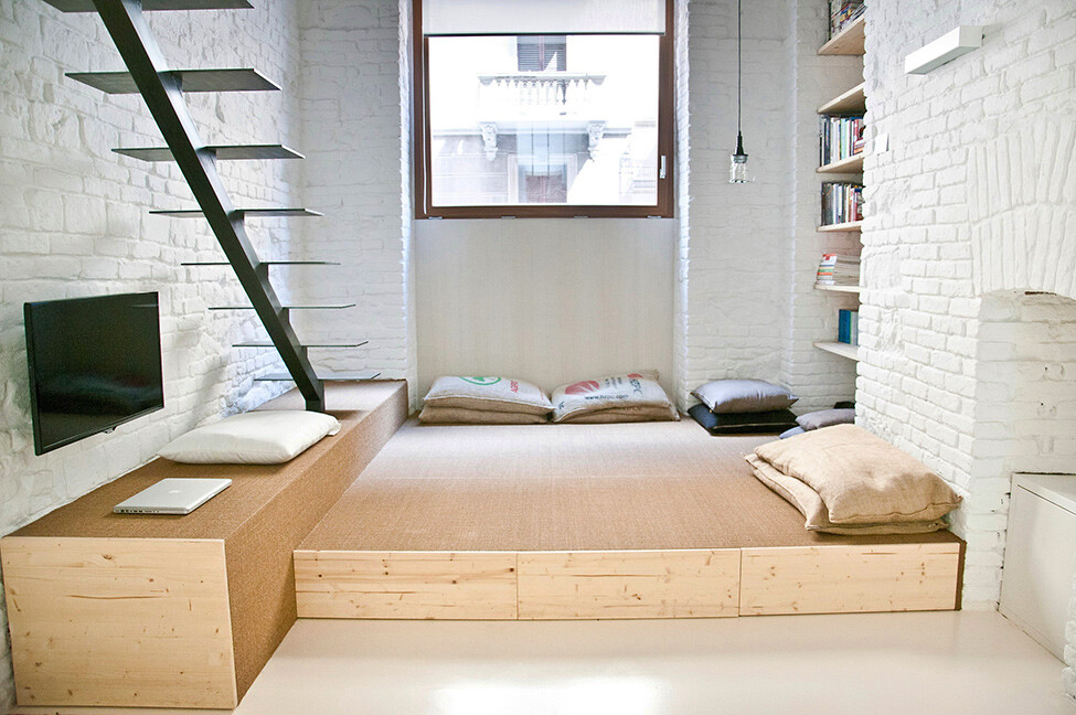 Small studio apartment design R3Architetti - www.homeworlddesign. com (6)