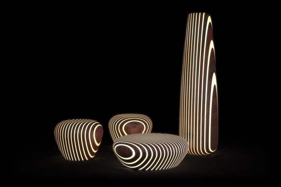 Bright Wood Collection fascinating collection of tables, seats and lamps by Giancarlo Zema - www.homeworlddesign. com (7)