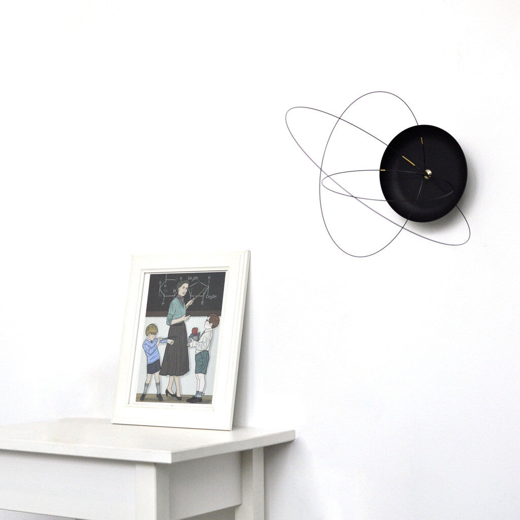 The Orbits Clock by Studio Ve new and unique wall clock - www.homeworlddesign. com (2)