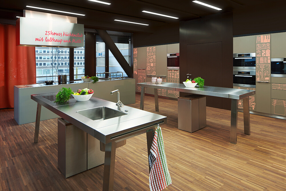 25hours hotel zurich west by alfredo h berli for Kitchen design zurich