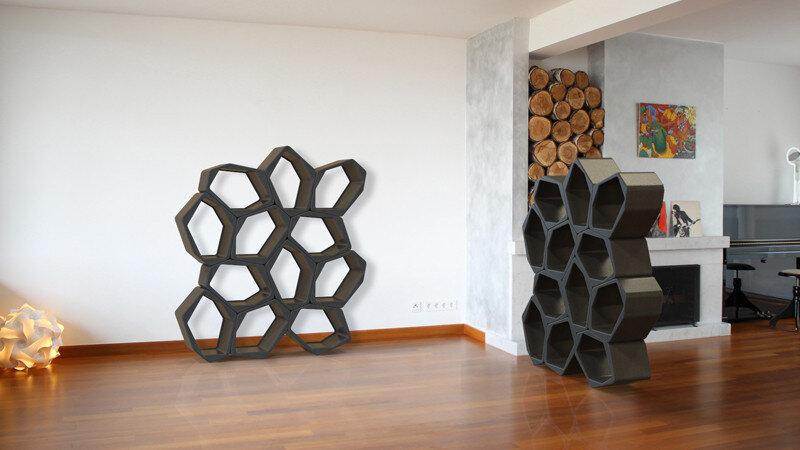 modular shelving system (14)