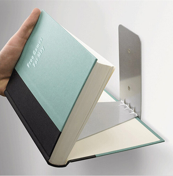 Bookshelves with minimalist design and expressive Conceal book shelf - www.homeworlddesign. com (1)