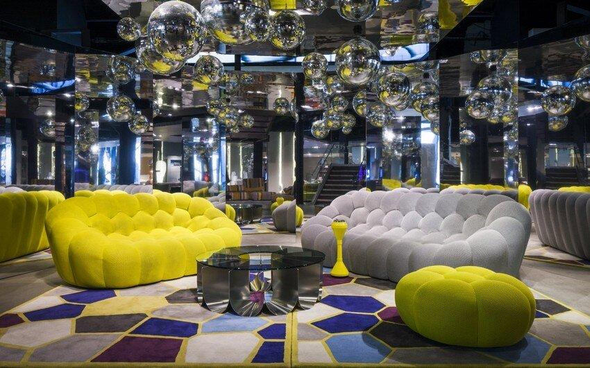 Bubble Sofa By Sacha Lakic Stylish, Colourful And Completely Handmade   Www.homeworlddesign