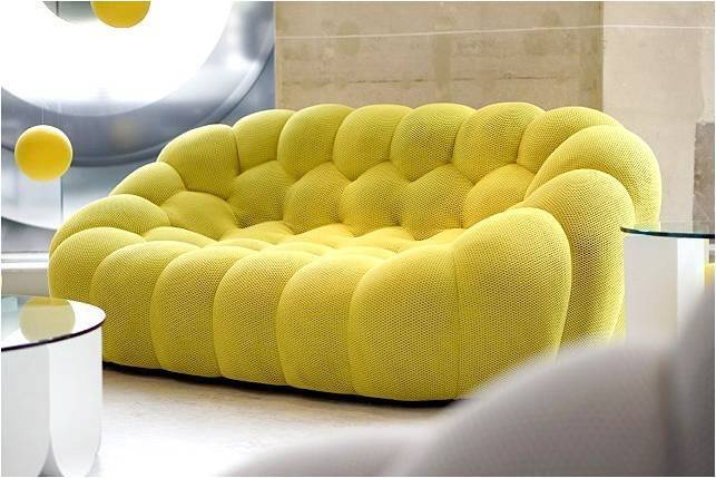 bubble sofa by sacha lakic stylish colourful and handmade. Black Bedroom Furniture Sets. Home Design Ideas
