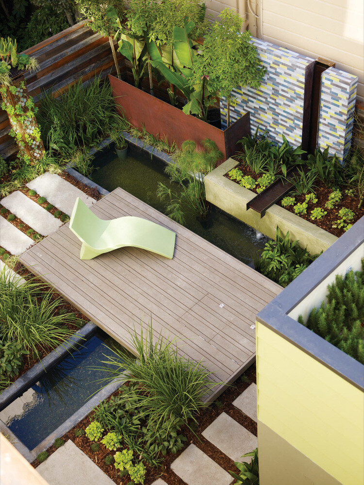 Contemporary garden design ideas and tips for Contemporary gardens