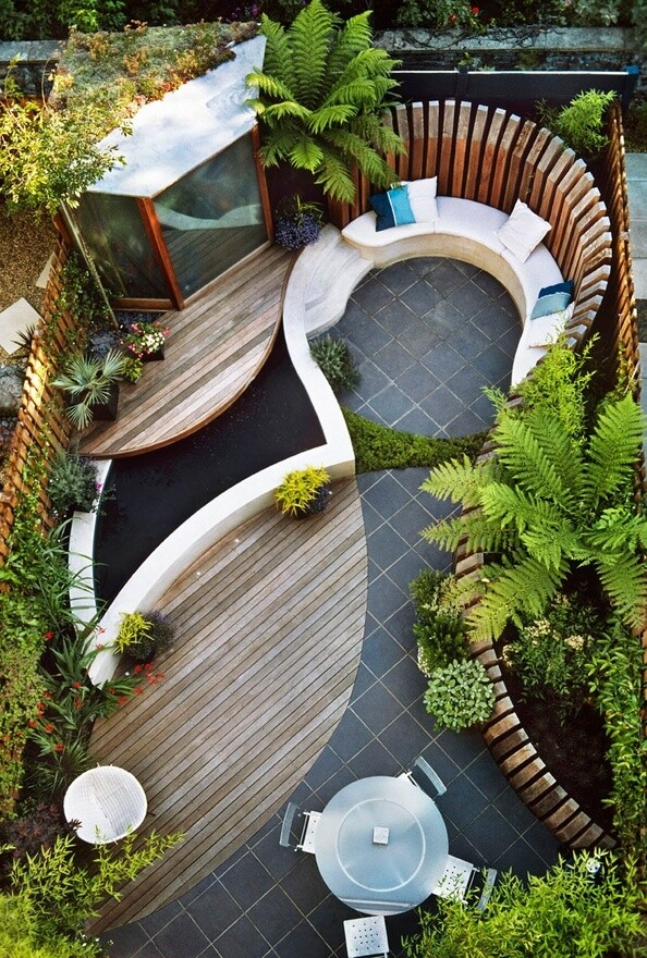 Contemporary garden design Ideas and Tips - www.homeworlddesign. com 2