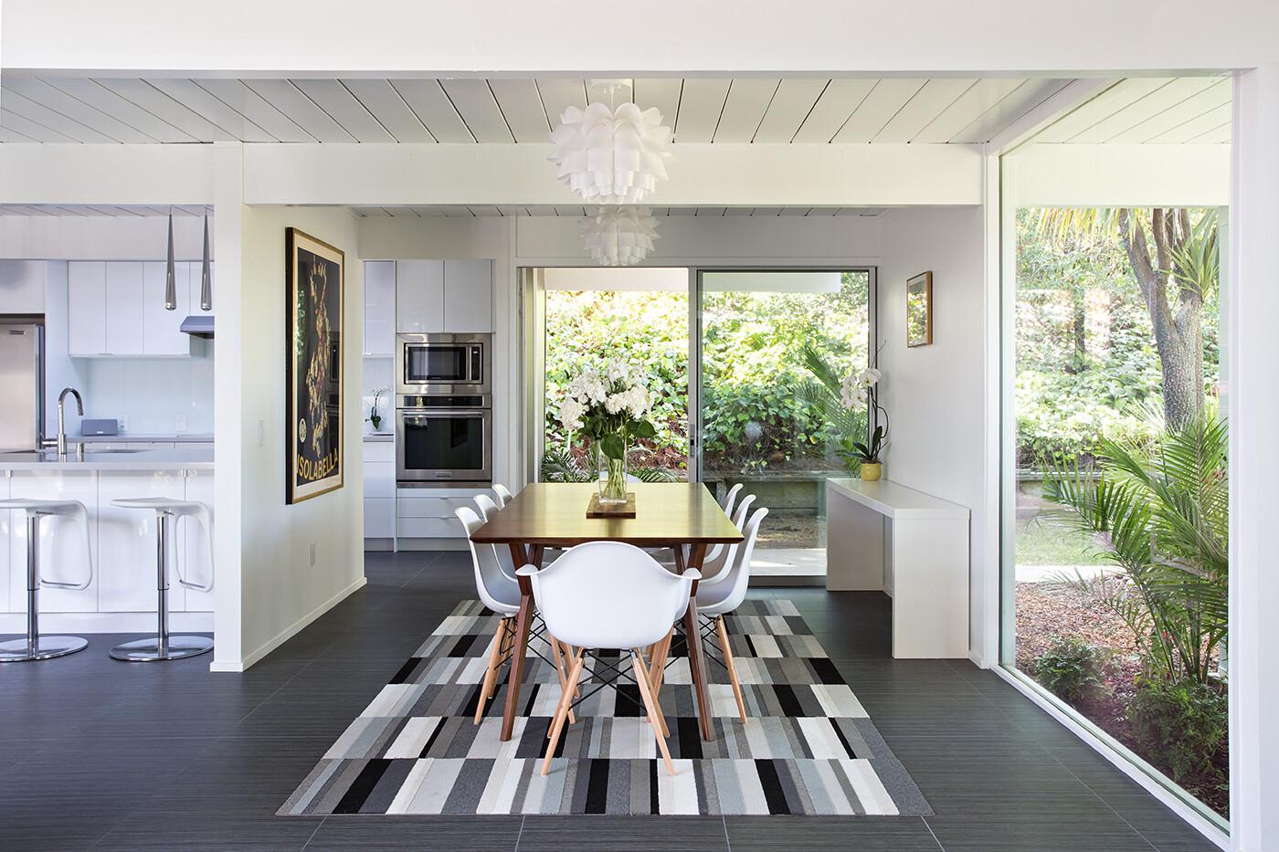 eichler house modernized by klopf architecture