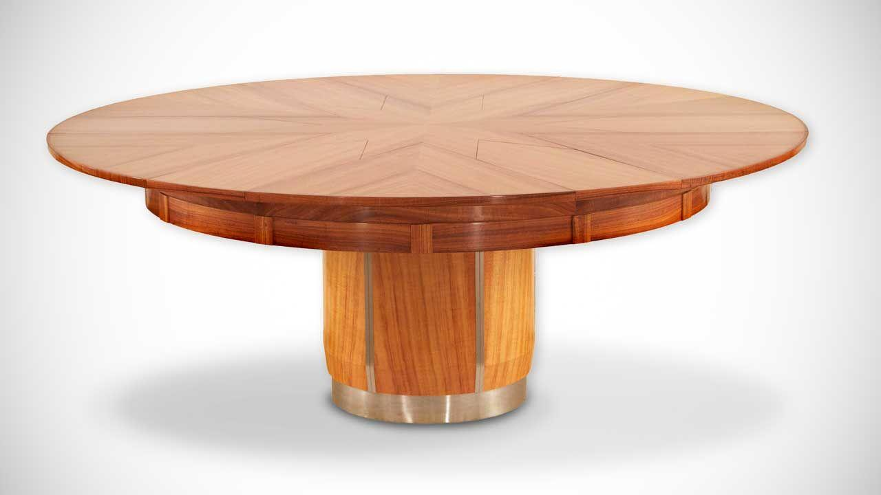 Fletcher capstan table for Table ronde extensible