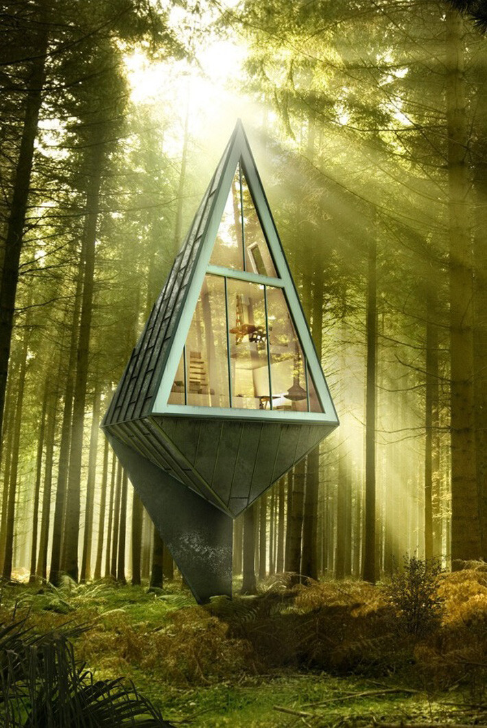 Primeval Symbiosis Residential Project Based On An Eco