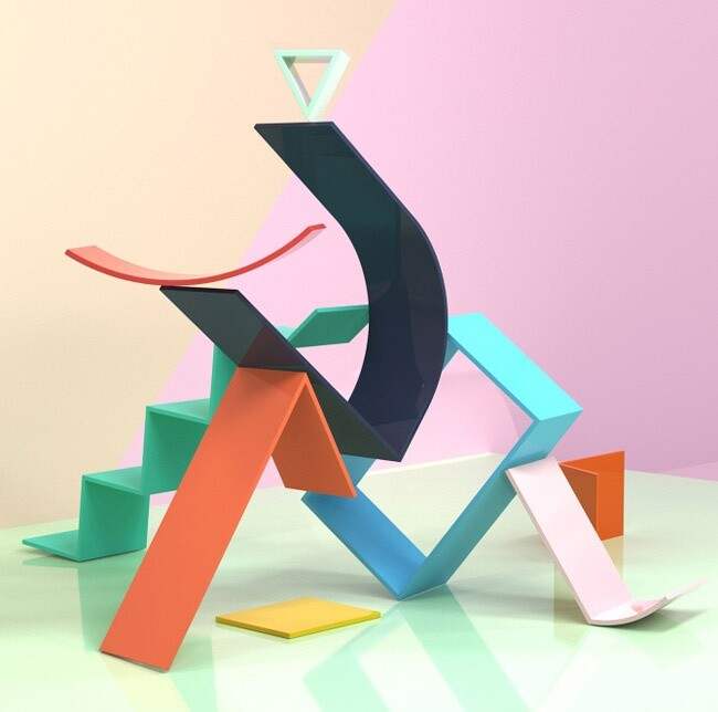 OGN Project transform the wall into a playground for line and color - www.homeworlddesign. com (2)
