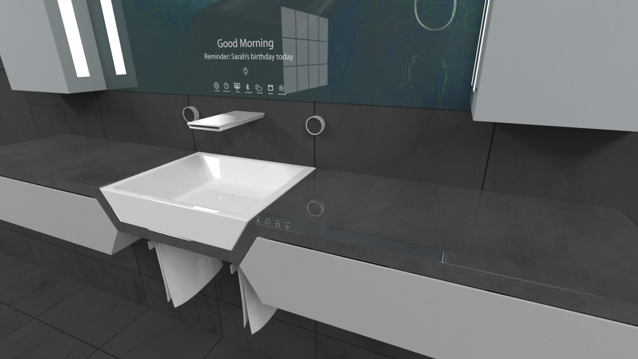 Reece Bathroom Innovation Award finalist Sanctus project by Rene Linssen - .homeworlddesign. com : bathroom-innovation - designwebi.com