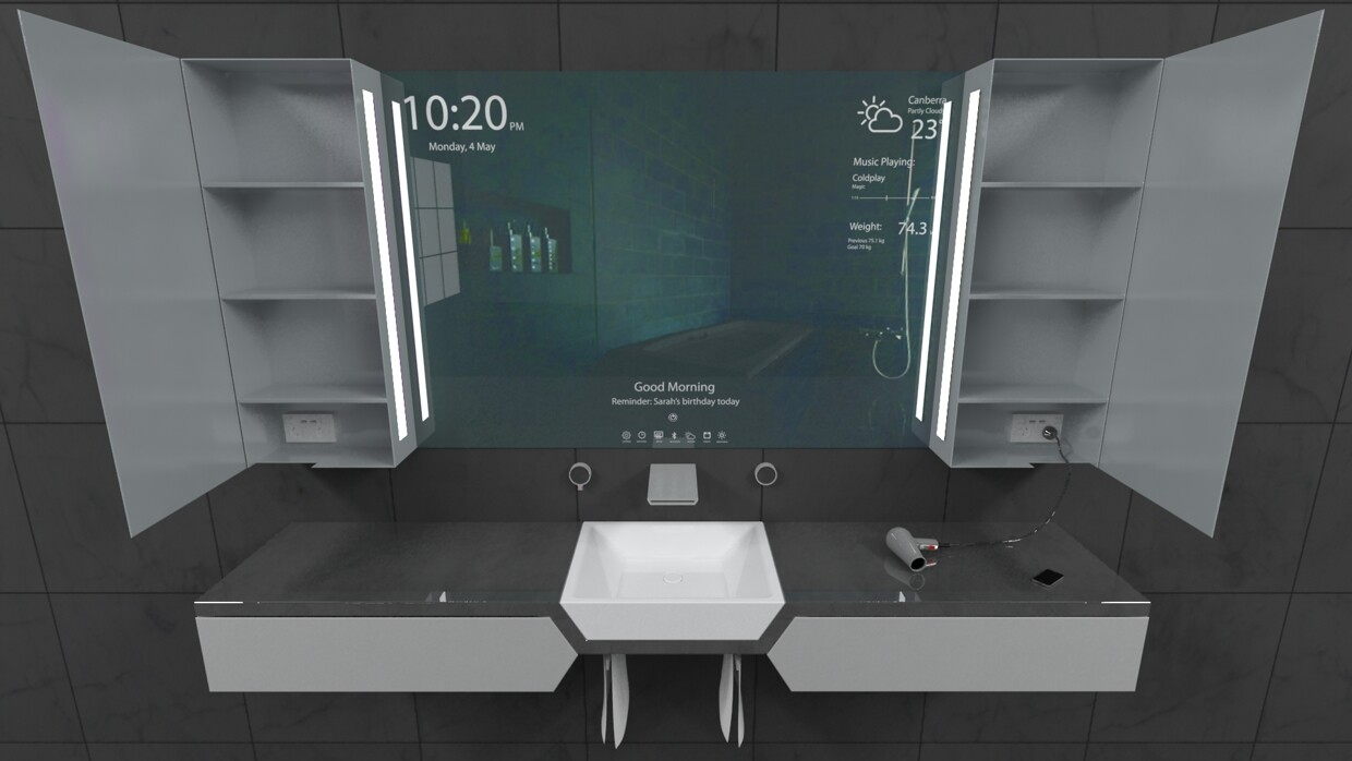 Reece Bathroom Innovation Award finalist Sanctus project by Rene Linssen - .homeworlddesign. com & Reece Bathroom Innovation Award finalist: Sanctus project by Rene ...