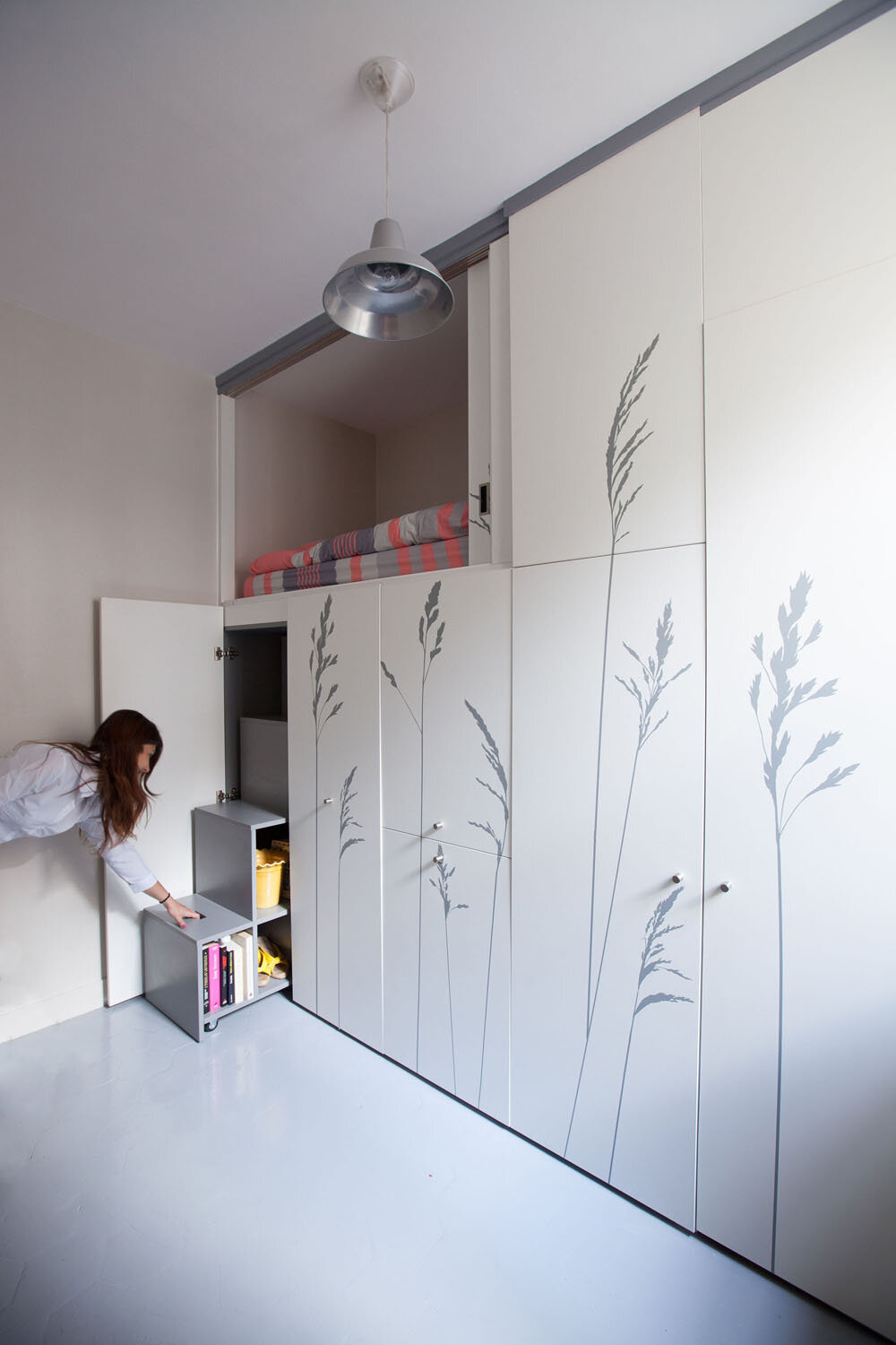 Tiny Apartment In Paris KitoKo Studio Transform 8 Square Meters   Www.  Homeworlddesign. Com