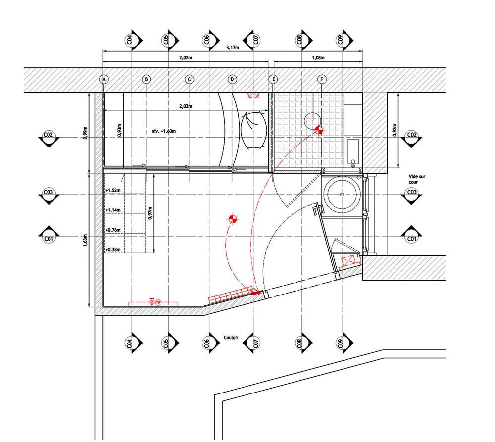 Small apartment in Paris KitoKo Studio transform 8 square meters - www. homeworlddesign. com (18)