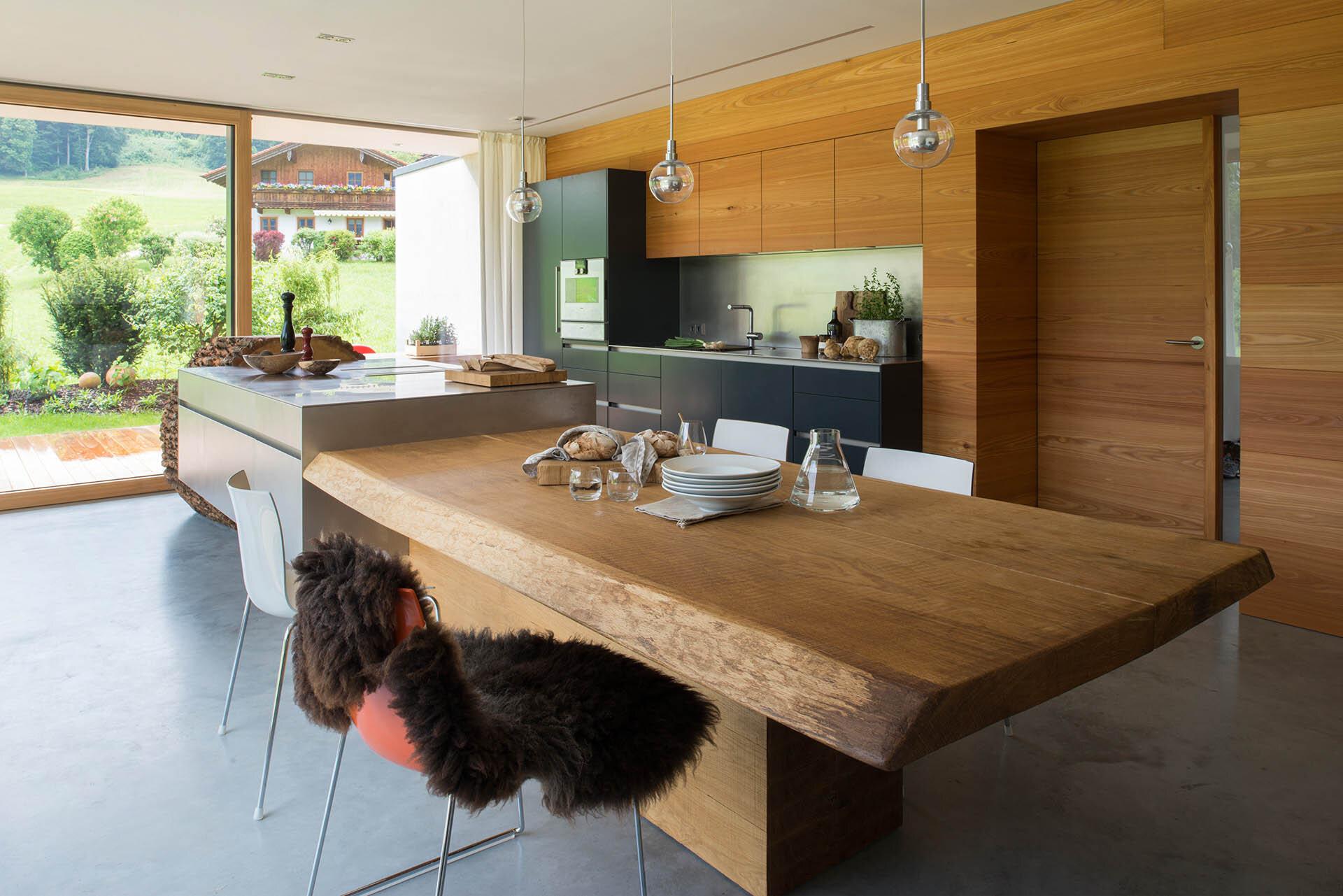 Tree trunk kitchen table - Tree Trunk Kitchen Table 8