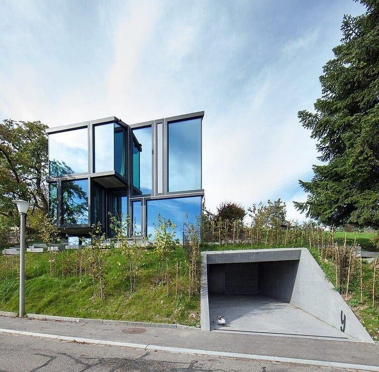 Trubel House by L3P Architekten successful architectural solution for difficult terrain - www.homeworlddesign. com (3)
