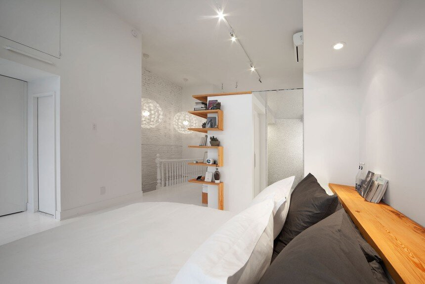 Juliette apartment - Redesign the third floor of a single-family residence of the Plateau Mont-Royal  - HomeWorldDesign (5)