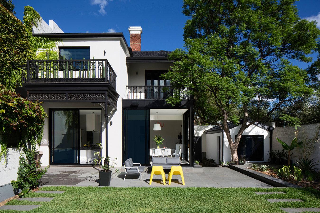 Victorian House With Contemporary Interior Design