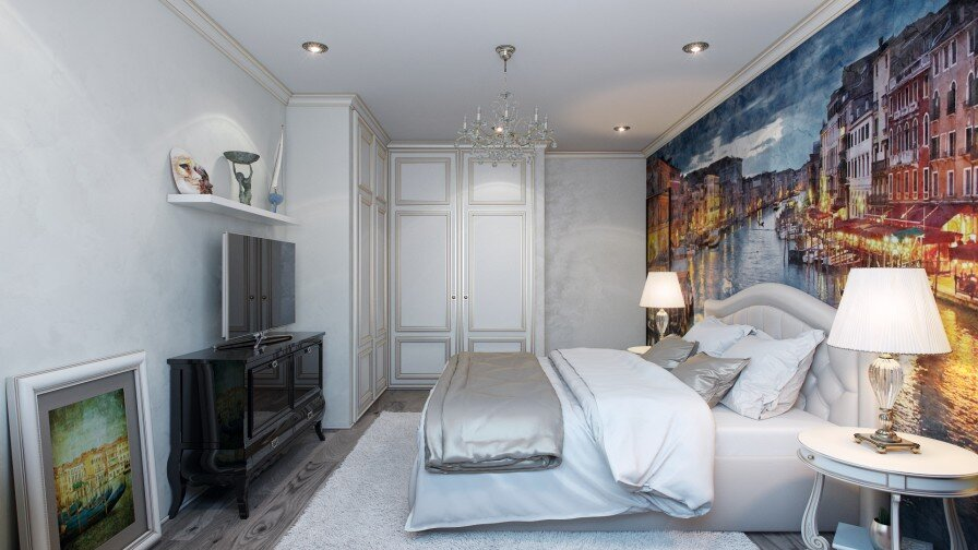 Would you like a painted wall in your bedroom - www.homeworlddesign. com (2)
