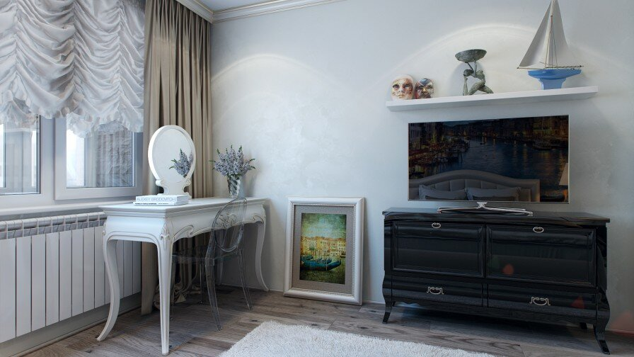 Would you like a painted wall in your bedroom - www.homeworlddesign. com (5)