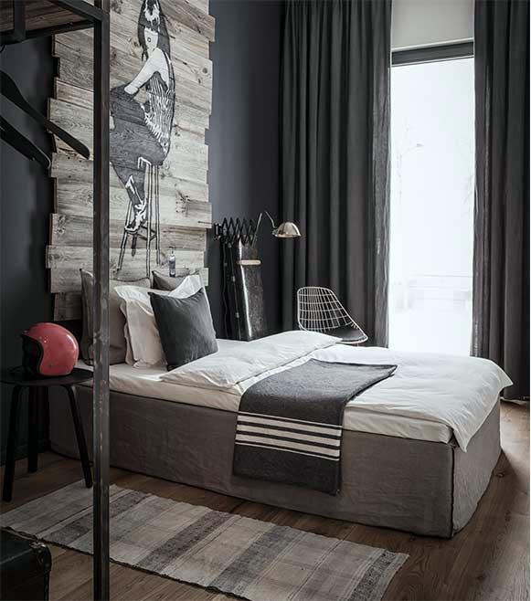 8 Luxury Bedrooms In Detail: Meet The Edgy, James Bond-Worthy Apartment Of Your Dreams