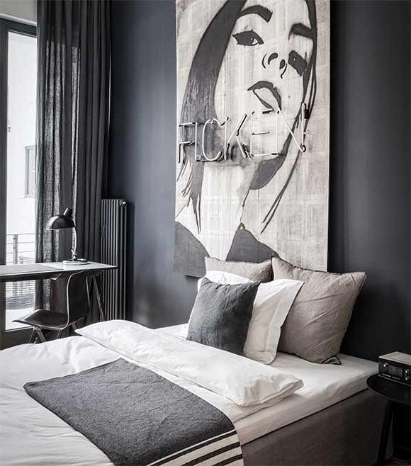 Meet the edgy james bond worthy apartment of your dreams for Apartment 9 furniture