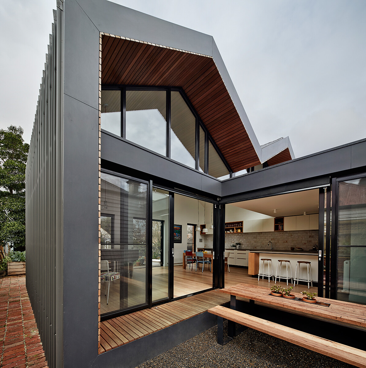 M house a successful modification for more natural light for Design house architecture nz