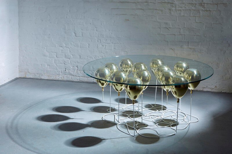 Up Balloon Coffee Table Round by Christopher London - HomeWorldDesign (1) (Custom)