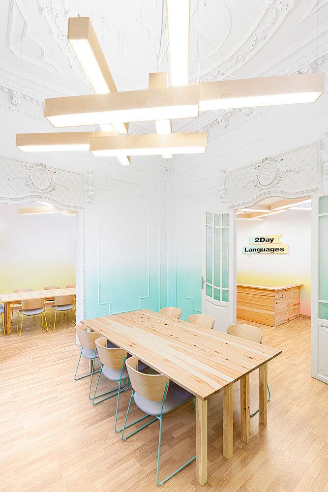 Spanish school from Valencia - interiors by Masquespacio - HomeWorldDesign (12)