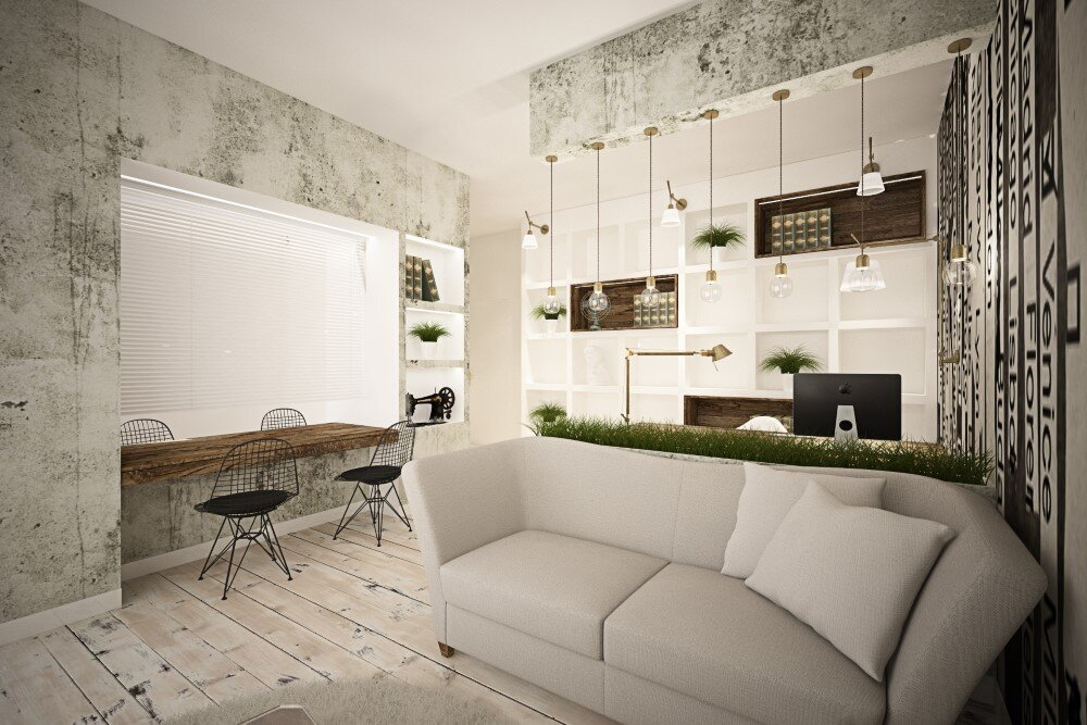 65 square meters vintage apartment by Brainfactory Roma - HomeWorldDesign (3) (Custom)