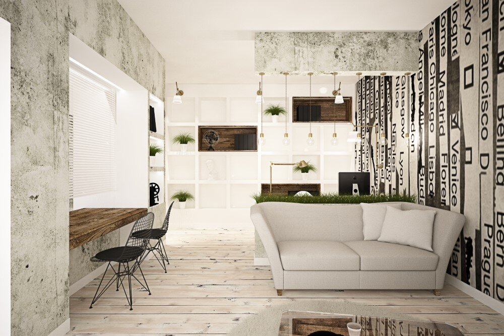 65 square meters vintage apartment by Brainfactory Roma - HomeWorldDesign (5) (Custom)