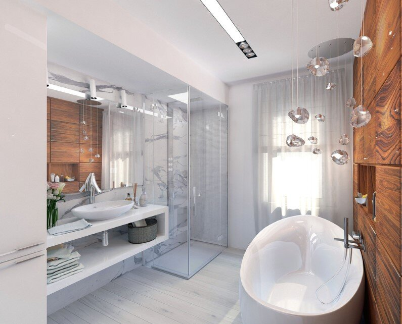 Bathroom project by Natasha Chibiriak