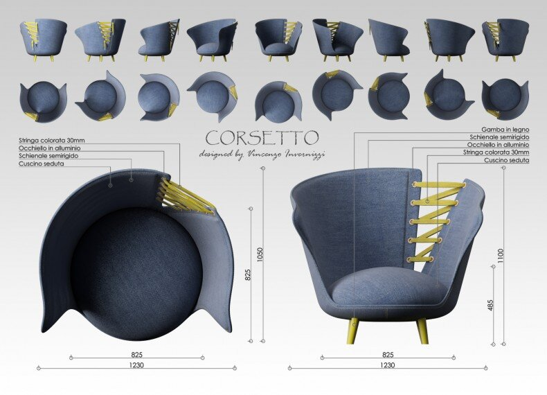 Corsetto armchair by Vincenzo Invernizzi - HomeWorldDesign (3)