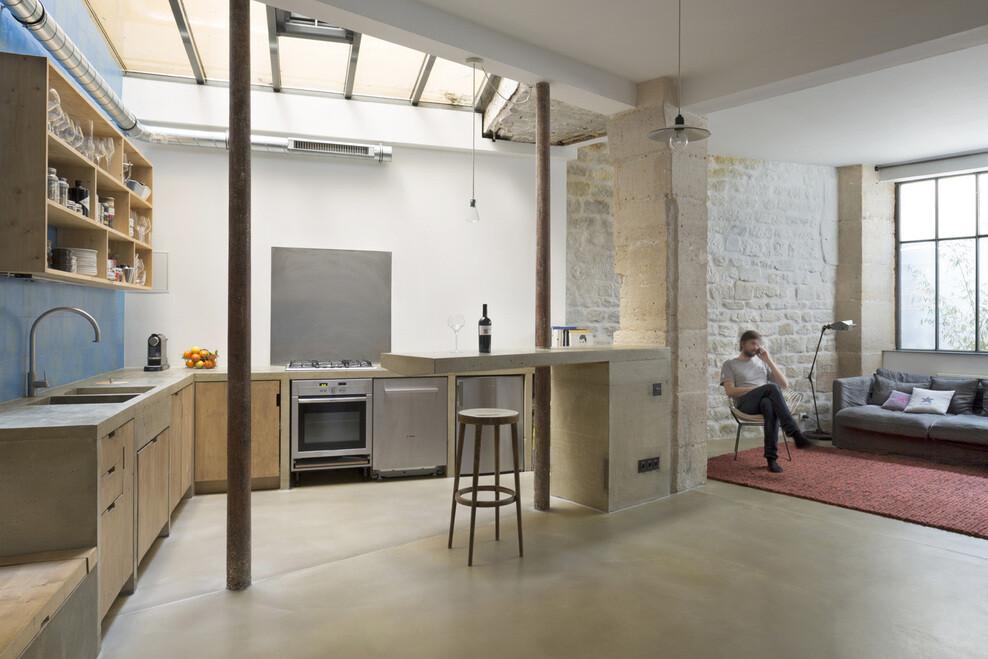 Loft in Paris ancient craft shop transformed by Maxime Jansens - HomeWorldDesign (16)
