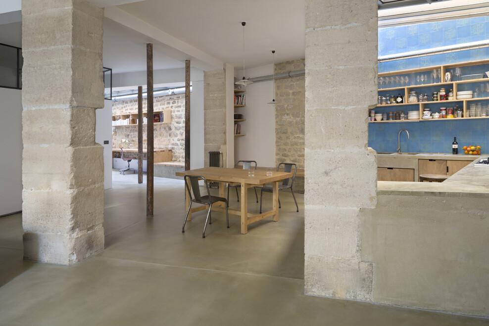 Loft Paris ancient craft shop transformed by Maxime Jansens - HomeWorldDesign (17)
