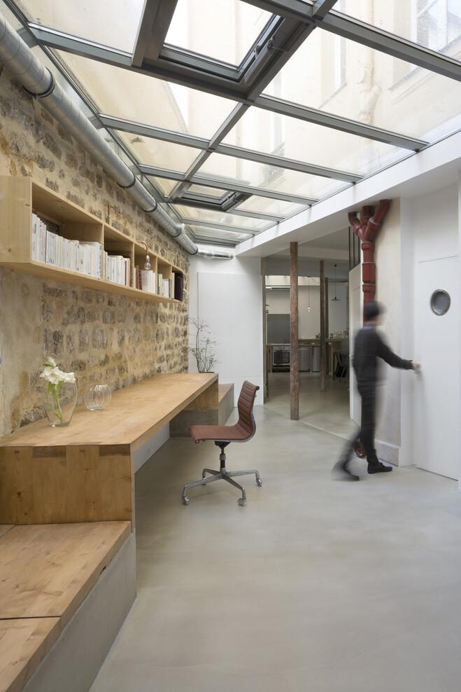 Loft in Paris ancient craft shop transformed by Maxime Jansens - HomeWorldDesign (2)