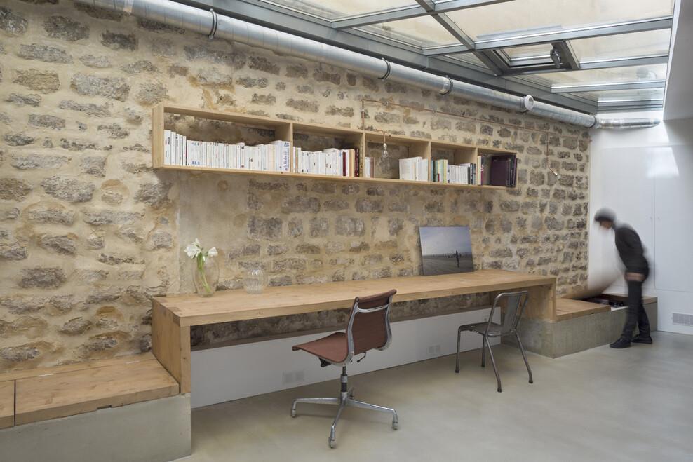 Loft in Paris ancient craft shop transformed by Maxime Jansens - HomeWorldDesign (5)