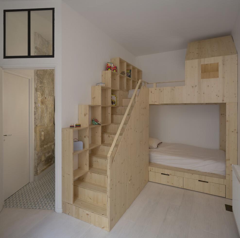 Loft Paris ancient craft shop transformed by Maxime Jansens - HomeWorldDesign (8)