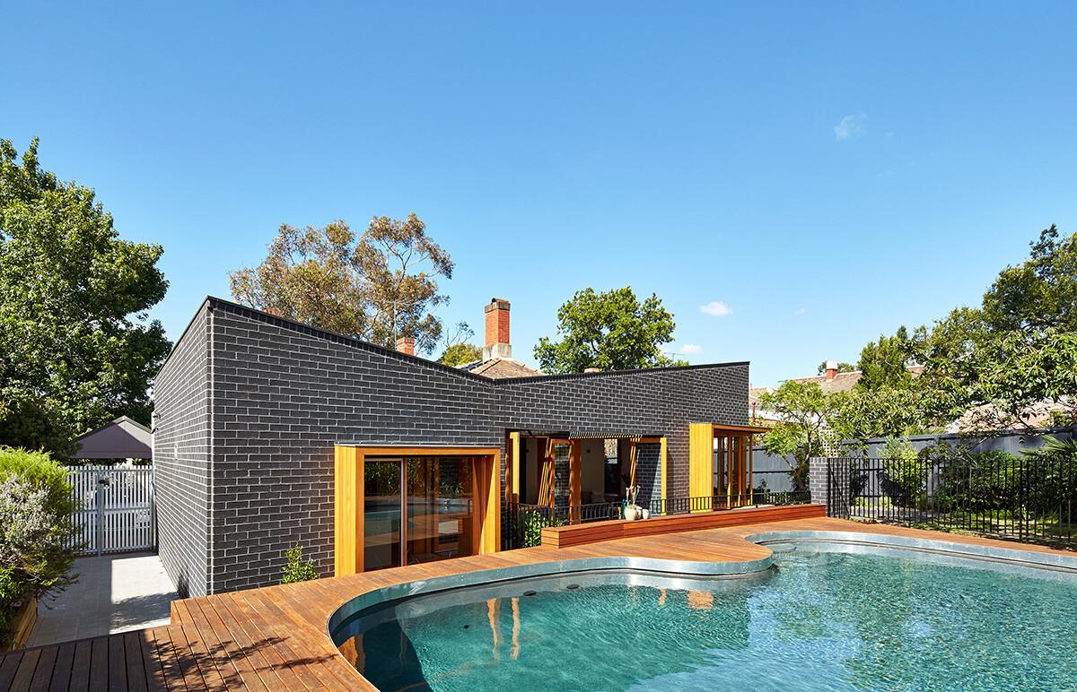Rosebank house spatial extension and renovation - Casas de ladrillo visto ...