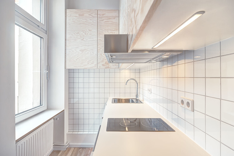 21 square-meters flat in Berlin - kitchen