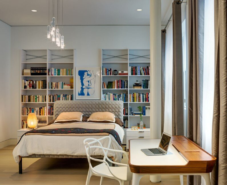 Architect-Ed Kopel-Residence-in-Brooklyn-bedroom