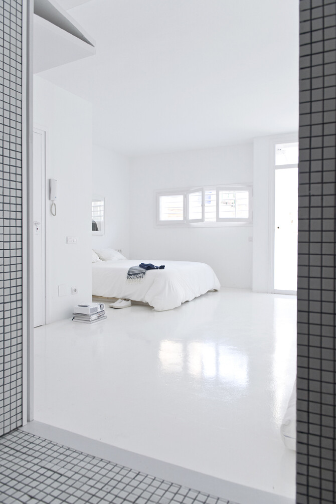 Bedroom -The White Retreat, Sitges, Spain