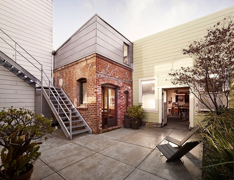 Brick House- old laundry transformed by architect Christi Azevedo (1)