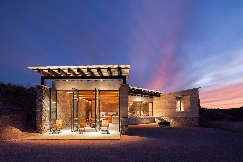 Cave House residential project in Mexic
